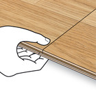 klick laminat verlegen eine anleitung kronotex laminat ratgeber. Black Bedroom Furniture Sets. Home Design Ideas