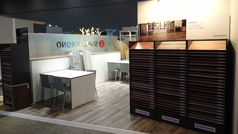 Presentation Of The Kronotex Flooring Collection At Designbuild