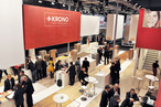 """Meet us at DOMOTEX"": The SWISS KRONO GROUP put its motto for this year's trade show motto into practice."