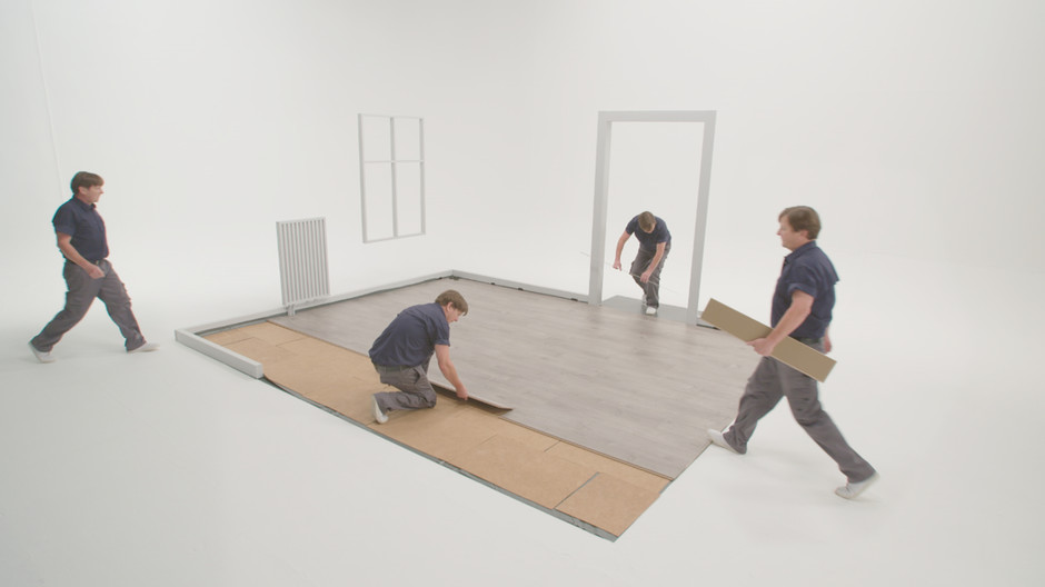 Clips From Kronotex That Show You How To Correctly Install Laminate Flooring