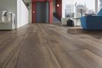 Pettersson Oak dark laminate flooring (D 4766) of the KRONOTEX MEGA PLUS collection