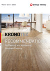 Cleaning and Care of KRONOTEX Laminate Floorings