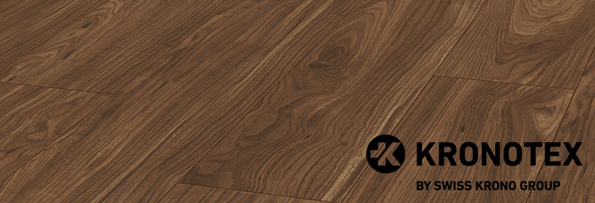 Kronotex exquisit tuscany walnut d 3070 from kronotex for Kronotex laminate
