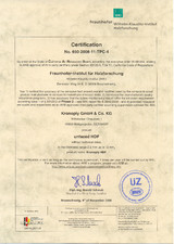 KRONOTEX WKI HDF Phase 2 Certification EN