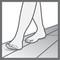 Comfortable underfoot